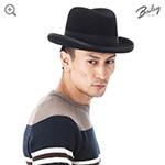 Шляпа BAILEY арт. 3817 GODFATHER (черный)